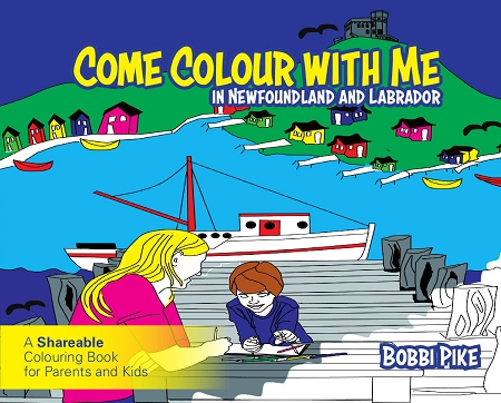 home books come colour with me in newfoundland labrador a sharable colouring book for parents and kids bobbi pike - Kids Colouring Books