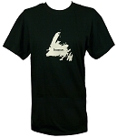 Mens -  T Shirt  - Home - Black