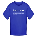 Youth - T Shirt - Hard Case - Definition - Royal Blue