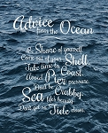 Canvas Print - Advice from the Ocean - 11 x 14