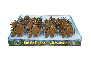 Keychain - Bottle Opener Moose