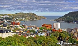 Canvas Photo - A View of St John's 11 x 14