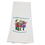Tea Towel Waffle Cotton - Any Mummers Lowd In