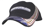 Cap - Newfoundland Flag Wrap with Text - Navy