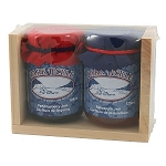 Dark Tickle - Gift Box - Partridgeberry & Bakeapple  Jam - 2x57ml