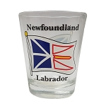 Shot Glass - Newfoundland and Labrador