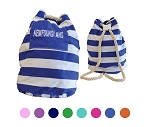 Newfoundland - Striped - Rope Handle - Duffle - Sold Assorted