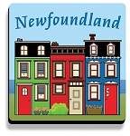 Downhome Coasters - Rowhouse - Set of 4 - 4
