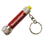 Key Chain Flashlight - Red - 3