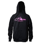 Hoodie - Adult - Home with Pink Lettering