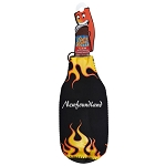 Party Popper - Newfoundland - Black w Flames