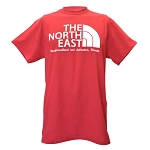 Mens -  T Shirt - The North East - Cardinal Red