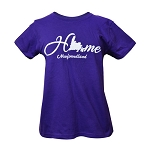 T Shirt - Ladies - Home -  Purple