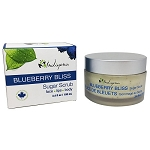 Indigena - Sugar Scrub - Face , Lips , Body - Blueberry Bliss - 100ml