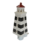Night Light - Light House - Black and White Stripes - 7