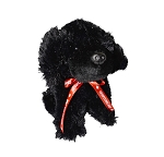 Plush - Newfoundland Dog w Ribbon - 8