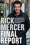 Rick Mercer - Final Report  - Hard Cover