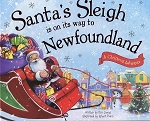 Santa's Sleigh is on its way to Newfoundland - Eric James/Robert Dunn - Hard Cover