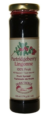 Dark Tickle - 100% Fruit Spread - Partridgeberry - 150ml